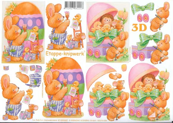 Decoupage Eggs Easter Eggs 3d Decoupage Craft