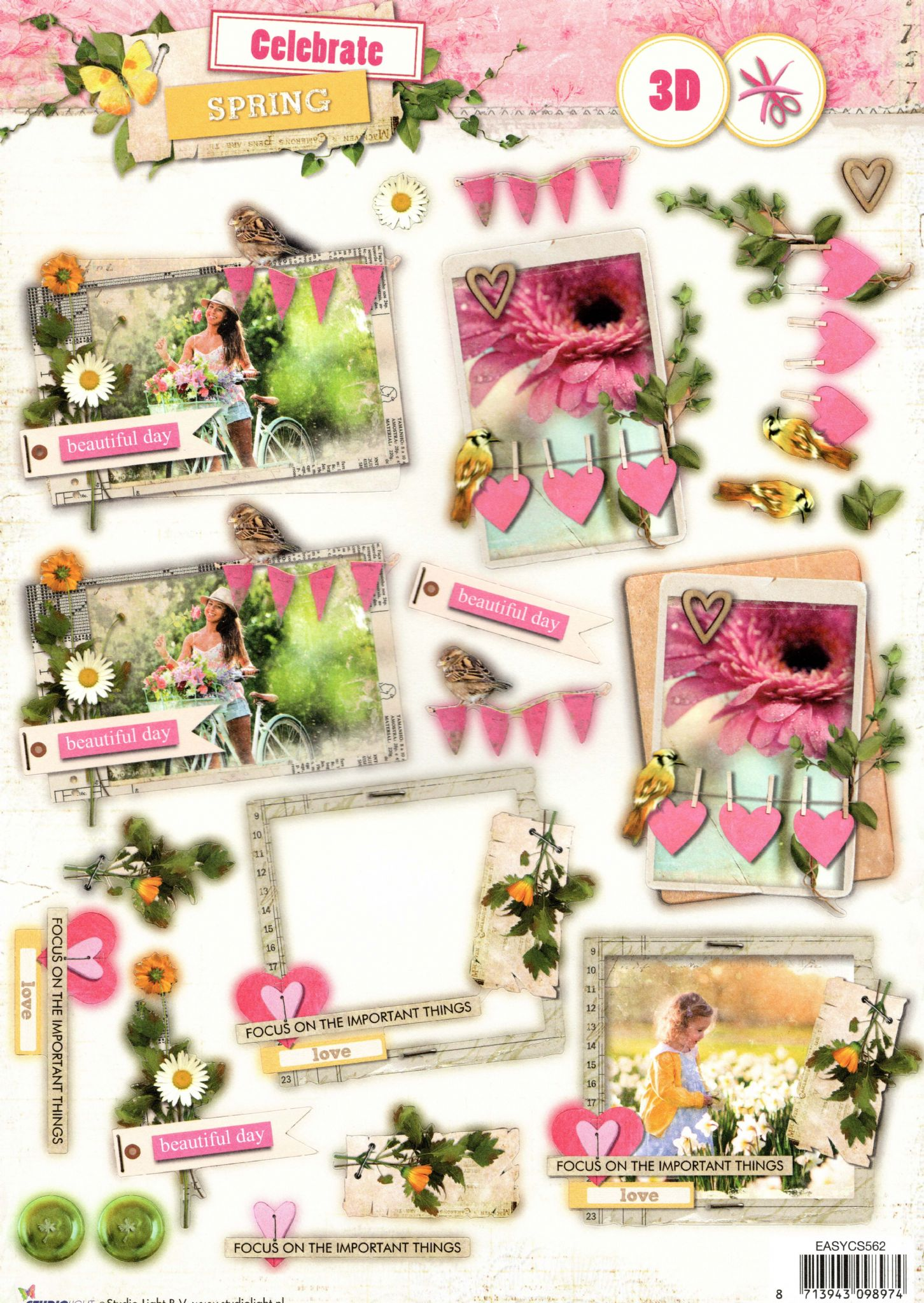 8 x For Someone Special die cut card toppers