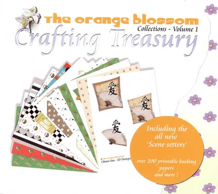 The Orange Blossom Crafting Treasury Vol 1 CD