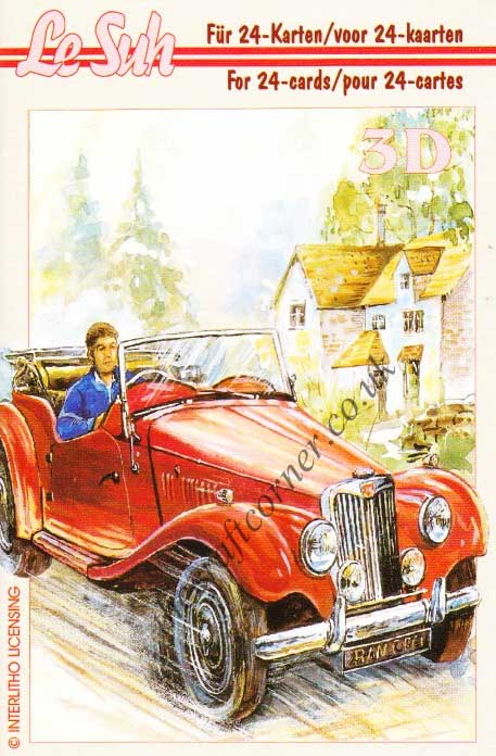 Vehicles Mini 3D Decoupage Book