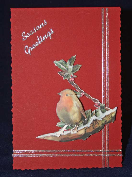 Die Cut 3D Christmas Card